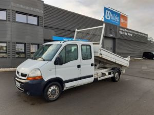 Chasis + carrocería Renault Master Volquete trasero cabina doble 3T5 2.2 DCI 90CH BENNE DOUBLE CABINE 7 PLACES Occasion