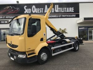Chassis + carrosserie Renault Ampliroll Polybenne MIDLUM 220.12 Occasion