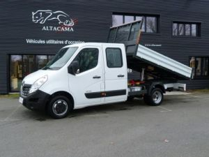 Chassis + carrosserie Renault Master Benne Double Cabine 125 cv benne  Occasion