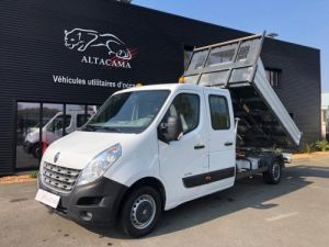 Chassis + carrosserie Renault Master Benne Double Cabine BENNE -CROCHET Occasion