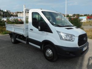 Chassis + carrosserie Ford Transit Benne arrière TDCI 125 Occasion