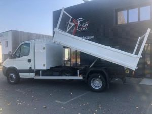 Chassis + carrosserie Iveco Daily Benne + grue 70 C 18 BENNE CHARGE UTILE 3T COFFRE GRUE CROCHET  Occasion