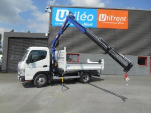 Chassis + carrosserie Mitsubishi Canter Benne + grue 3S15 N28 Neuf