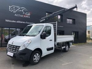 Chassis + carrosserie Renault Master Plateau + grue PLATEAU+ GRUE HIAB Occasion
