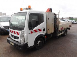 Chassis + carrosserie Renault Maxity Plateau + grue 140 DXI PLATEAU + GRUE Occasion