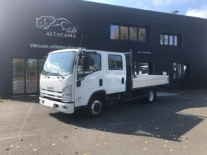 Chassis + carrosserie Isuzu NLR Plateau DOUBLE CABINE CROCHET  7T Occasion