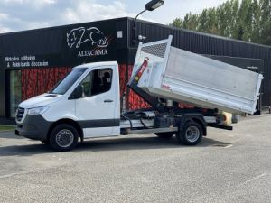 Chassis + carrosserie Mercedes Sprinter Polybenne 516 POLYBENNE Location