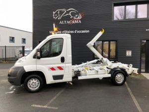 Commercial car Peugeot Boxer Hookloader Ampliroll body BENNE AMOVIBLE Occasion