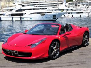 Ferrari 458 Italia Spider V8 4.5 F1 570CV - MONACO Leasing