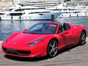Ferrari 458 Spider V8 4.5 F1 570CV - MONACO Occasion