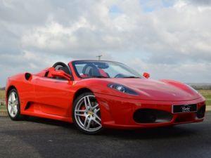 Ferrari F430 Spider RARISSIME FERRARI F430 SPIDER 4.3 V8 490ch BOITE MECANIQUE ROSSO ECUSSON DAYTONA CARBONE COLLECTOR Occasion
