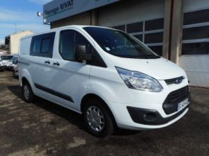 Fourgon Ford Transit Fourgon Double cabine CUSTOM L1H1 D-CAB TDCI 125 Occasion