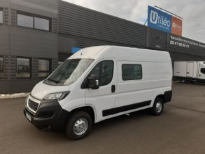 Fourgon Peugeot Boxer Fourgon Double cabine 3.5 L2H2 2.2 HDI 110CH CABINE APPROFONDIE PACK CLIM Occasion