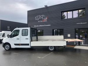 Fourgon Renault Master Plateau 7 PLACES HAYON DOUBLE CABINE Occasion