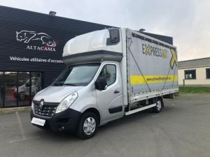 Furgón Renault Master Semitauliner 165 CV PLATEAU RIDEAU COULISSANT Occasion
