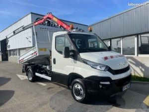 Iveco Daily 35c15 benne grue FASSI F38 Occasion