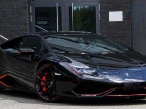 Lamborghini Huracan Noir finition Rouge, édition limitée Occasion