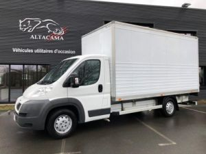 Light van Peugeot Boxer Box body + Lifting Tailboard CAISSE 19.5m3 Occasion