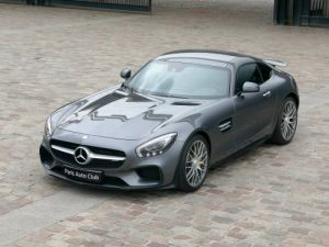 Mercedes AMG GT 4.0 V8 Biturbo 462 Speedshift 7 Edition One Gris anthracite métallisé Occasion - 1