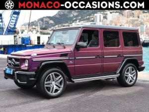 Mercedes Classe G 63 AMG 630ch Break Long Color Block 7G-Tronic Speedshift + Occasion