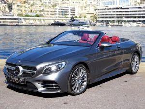 Mercedes Classe S MERCEDES-BENZ CLASSE S 560 V8 4.0 CABRIOLET AMG LINE 469 CV - MONACO Occasion