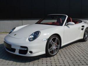 Porsche 997  Cabriolet Turbo 480 ch !! Boite méca !! 1 MAIN !! Occasion