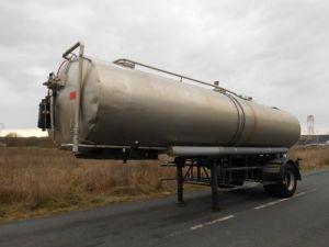 Remolque Maisonneuve Cisterna alimentaria CITERNE 1 essieu 24000 litres Occasion