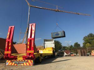 Remolque Actm Gondola lleva maquinas Occasion