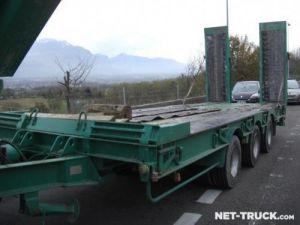 Remolque Castera Gondola lleva maquinas Occasion