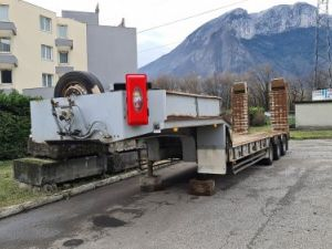 Remolque Kaiser Gondola lleva maquinas Occasion