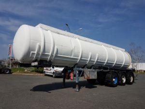 Remorque Citerne hydrocarbures Citerne acier 28000 litres Occasion