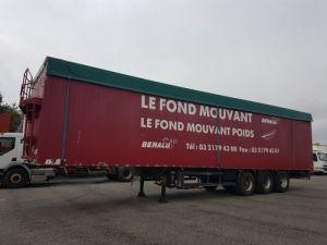 Remorque Benalu Fond mouvant FOND MOUVANT BENALU 90m3 Occasion