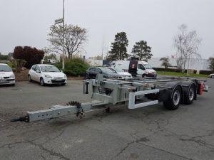 Remorque Fruehauf Porte container Remorque 2 essieux PORTE-CAISSE MOBILE Occasion