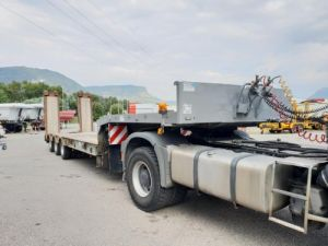 Remorque Kaiser Porte engins Plateau écartable hydraulique Occasion