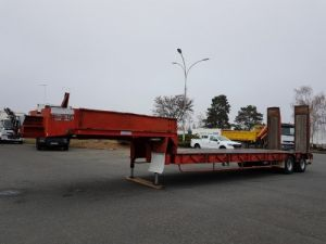 Remorque Porte engins Porte-engins 2 essieux  Occasion