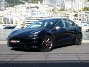 Tesla Model 3 Performance Dual Motor AWD Vendu