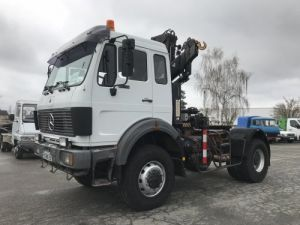 Tractor truck Mercedes SK 1836 AS 4x4 + HIAB 140 Occasion