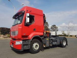 Tractor truck Renault Premium Lander 460dxi EEV - Grue PK 18500C Occasion