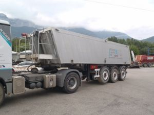 Trailer Fliegl Back Dump/Tipper body Benne Alu Occasion