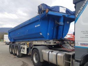 Trailer Fliegl Back Dump/Tipper body Benne Alu 3 essieux Occasion