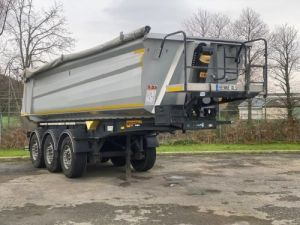 Trailer Wielton Back Dump/Tipper body ALU DEMI RONDE STRONG MASTER 3 ESSIEUX Occasion