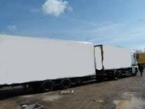 Trailer Lecitrailer Box body + Lifting Tailboard Occasion