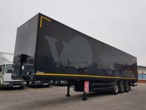 Trailer Samro Box body + Lifting Tailboard Fourgon 90m3 + hayon 2500 kg Occasion