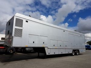 Trailer Titan Box body Ex REGIE TV - Extension hydraulique Occasion