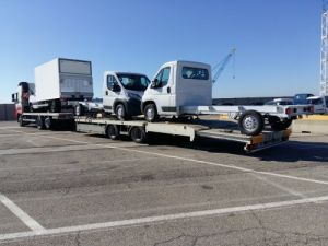 Trailer Samro Car carrier body Occasion