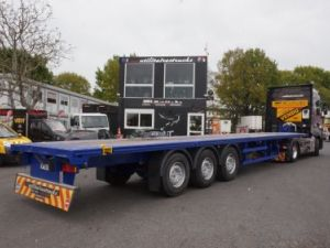 Trailer Lecitrailer Container carrier body Occasion