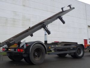 Trailer Samro Container carrier body Occasion