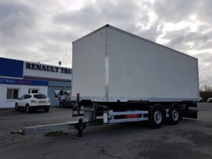 Trailer Samro Container carrier body PORTE-CAISSE MOBILE 7m80 Occasion
