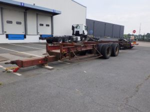 Trailer Trouillet Container carrier body Occasion