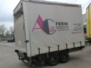 Trailer Fournier Curtain side body REMORQUE JPM  R35D 3.5 T Occasion